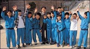 어린이들의 영원한 벗, 전 명지초등학교 교장 류맹수씨의 제자사랑