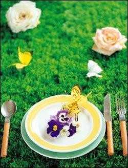 먹기 아깝다!  꽃 요리