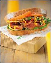 하나만 먹어도 든든!  샌드위치 & 햄버거