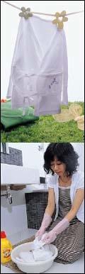 여름옷 보송보송 세탁 요령 & 보관법