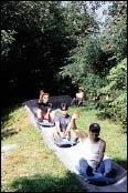가족여행을 겸한 리조트 레포츠 체험장