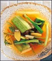 새콤하고 개운한 뒷맛이 일품! 물김치 & 매실요리