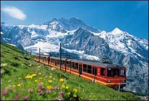 '명랑소녀' 장나라의 스위스 체험