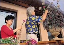 전원 속에서 꽃과 함께 동화처럼 사는 세계적인 화예디자이너 부부 행크 뮐러·이윤주