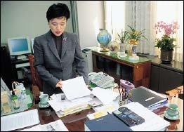 전통무 스승 김수악 선생이 얘기하는 강금실 법무부장관 춤 배운 사연