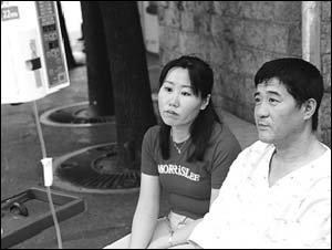 간암 투병중인 남편 뒷바라지하며 어린 남매 키우는 중국교포 주영숙씨 사연
