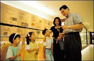탁구 스타 홍차옥씨 가족의 맥주공장 체험