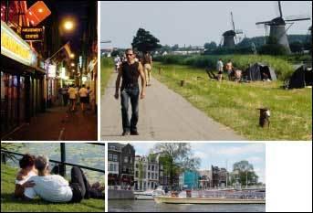 네덜란드의 이색 풍경