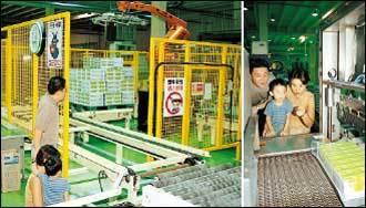 개그맨 하상훈 가족의 베지밀 공장 체험