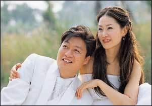 임신 7주, 웨딩촬영 현장에서 만난 신은경 김정수 커플