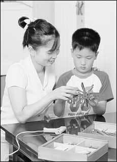 가베 선택법 & 엄마가 직접 가베 가르치는 방법