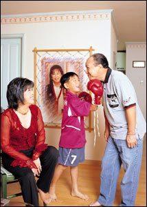 92년 재결합 후 늦둥이 키우는 재미에 빠진 홍수환·옥희 부부