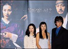 영화 '스캔들-조선남녀상열지사'에서 적나라한 베드신 선보인 배용준