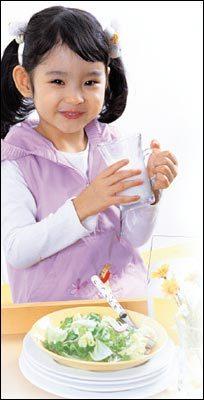 아이 체질에 따른 건강 밥상