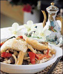 싱싱한 해산물과 야채가 듬뿍~ 삼선누룽지탕