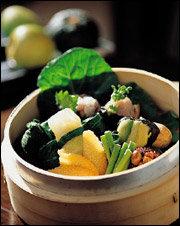 유기농 재료로 만든 퓨전 음식 전문점 The Market O