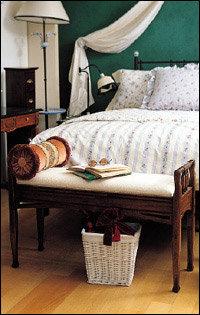 침실의 감각을 높여주는 베드벤치