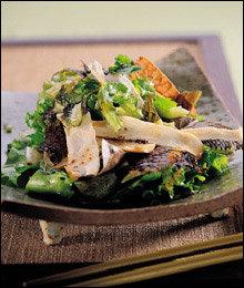 인삼으로 만든 건강요리