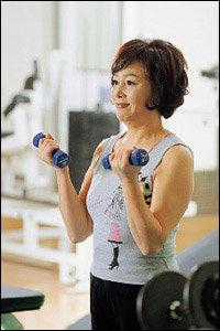 27년째 운동, 젊음 유지하는 김창숙 건강 비결
