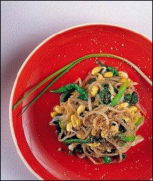 콩나물 1천원어치로 차린 식탁