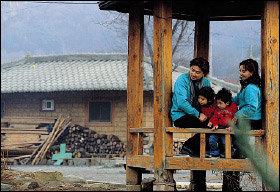 고구마 구워먹기·떡메 치기··· 신나는 시골마을체험