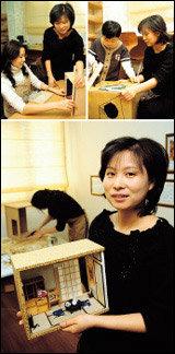 '인형의 집'처럼 예쁜 미니어처 만드는  돌 하우스 작가 박은혜