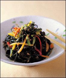 성인병 예방 & 다이어트에 좋은 해조류 요리