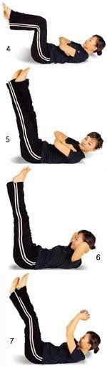 부위별로 살 빼는 마사지 & 운동법