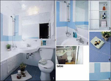 """""""모델하우스처럼 변신한 우리집 욕실, 동네 자랑거리랍니다"""""""
