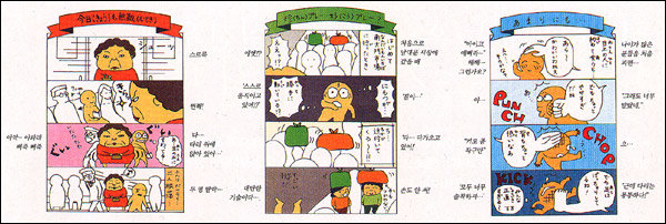 요절복통 한국살이 만화로 그리는 일본 새댁 '요코짱'