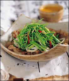 정갈한 맛, 한국식 샐러드