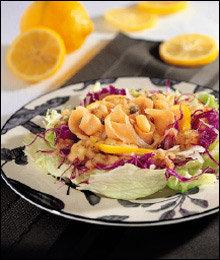 장수식품으로 인기! 지중해식 샐러드