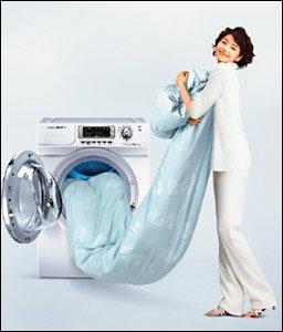 '웰빙'으로 화제 모으는 은나노 세탁기 정보