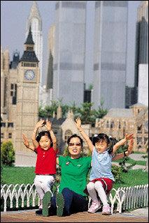 여섯 살배기 쌍둥이 자매와 엄마가 함께 떠난 부천 문화 생생 체험