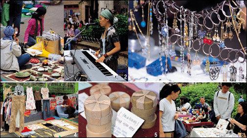 동대문 풍물시장&홍대 앞 프리마켓 벼룩시장에서 보물찾기