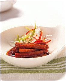 이너뷰티에 좋은 섬유질 요리