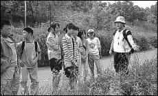 양재천 오염 감시하고 아이들에게 숲 생태 가르치는 주부 박상인의 숲사랑·자연사랑