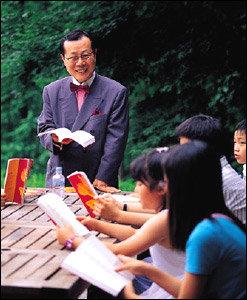 주말마다 집중적으로 영어발음 교정하는 헨리홍의 영어캠프현장