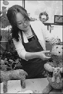 창업동호회 도움받아 지난 4월 토피어리숍 오픈한 주부 박은경의 생생 창업 체험