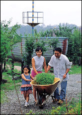 아나운서 최영주 가족의 허브농장 체험