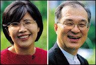 우리나라 최초 여성대법관으로 임명된 김영란·강지원 부부