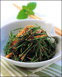 신선한 맛이 일품~ 야채 반찬