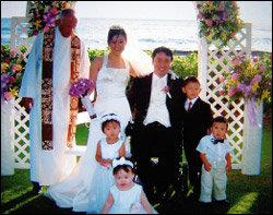 하와이에서 정범진 검사와 결혼식 올린 이수영 사장