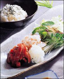 재료의 맛을 살린 담백하고 깔끔한 맛! 일본