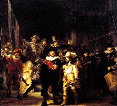 빛의 마술사 렘브란트의 ' 야경'