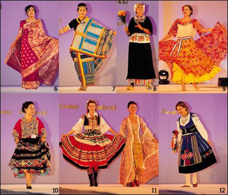30개국 대사 부인들이 모델로 선 세계 민속 의상 패션쇼