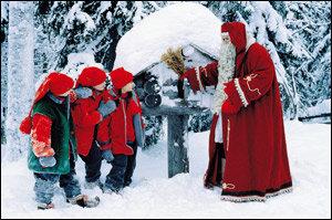 '산타의 나라'  핀란드의 크리스마스 즐기기