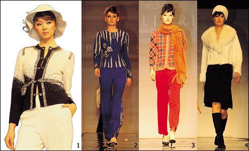 고급스럽고 클래식한 의상 선보인 포라리 패션쇼