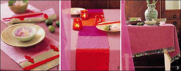 오리엔탈·로맨틱·프로방스풍… 3가지 스타일 초간단 테이블 웨어 DIY