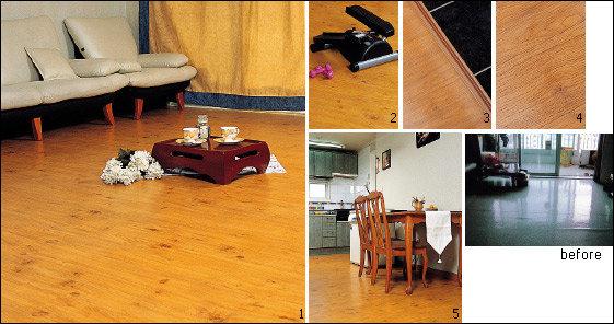 """""""하루빨리 집들이를 해 고급스러운 바닥재를 자랑하고 싶어요"""""""